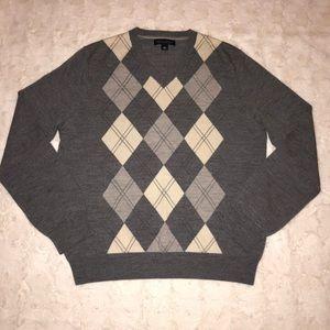 Banana Republic Argyle Sweater